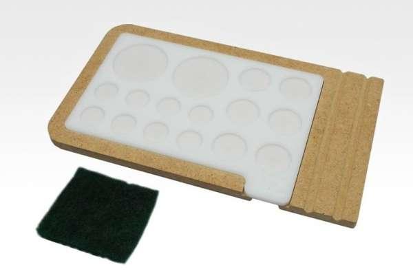 Hobby Zone PM1 - akrylowa paleta do mieszania farb i pigmentów.