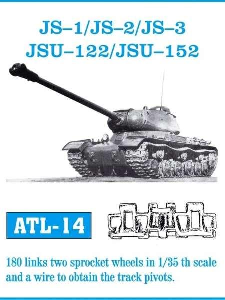 Metalowe gąsienice do IS-1 / IS-2 / IS-3, ISU-122 / ISU-152