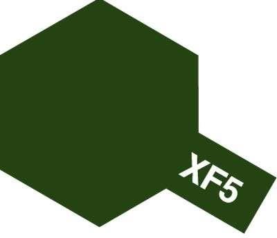 XF-5 Flat Green emalia 10ml Tamiya 80305