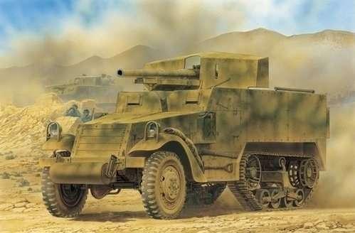Amerykańskie działo samobieżne M3 GMC , plastikowy model do sklejania Dragon 6467 w skali 1:35