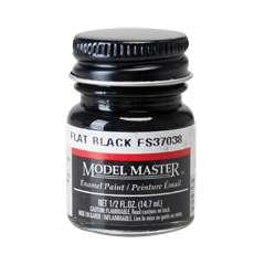 Farba modelarska Model Master 1749 w kolorze Flat Black FS37038