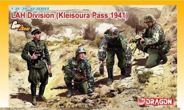 Figurki do sklejania Lah Division - Kleisoura Pass 1941 - image_dra6643_1-image_Dragon_6643_1
