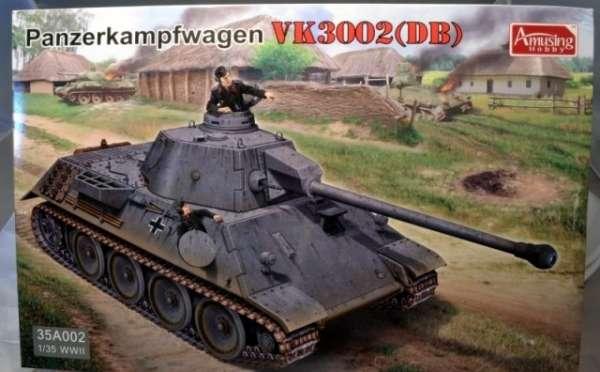 Niemiecki czołg Panzerkampfwagen VK3002 w skali 1:35, plastikowy model do sklejania-image_Amusing Hobby_35A002_1