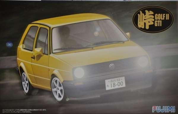 Niemiecki samochód Volkswagen Golf II GTI, plastikowy model do sklejania Fujimi 046020 w skali 1:24-image_Fujimi_046020_1