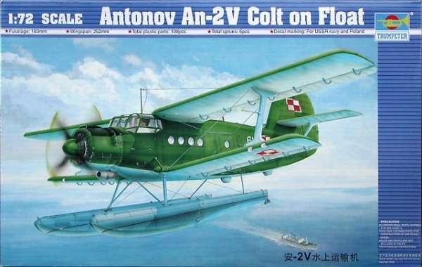 Dwupłatowiec Antonov An-2V Colt, plastikowy model do sklejania Trumpeter 01606 w skali 1:72