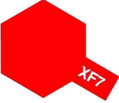 XF-7 Flat Red emalia 10ml Tamiya 80307