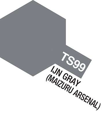 Farba modelarska - spray TS-99 IJN Grey (Maizuru Arsenal) - Tamiya nr 85099