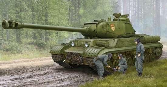 Radziecki czołg ciężki IS-2M , plastikowy model do sklejania Trumpeter 05589 w skali 1:35