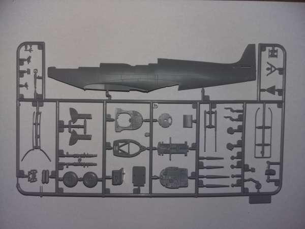 ICM 48060 w skali 1:48 - model Spitfire Mk.IXC Beer Delivery do sklejania - image j
