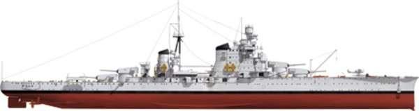 Włoski krążownik Pola 1941 - model Hobby Boss 86502