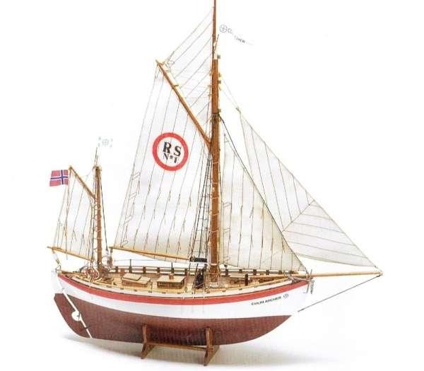 Norweski statek ratowniczy RS1 - Colin Archer , drewniany model do sklejania Billing Boats BB606 w skali 1:40
