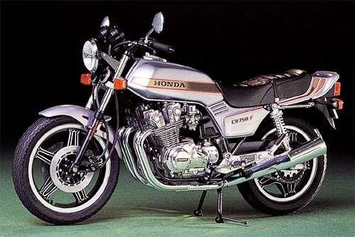 Japoński motocykl Honda CB750F, plastikowy model do sklejania Tamiya 14006 w skali 1:12-image_Tamiya_14006_1