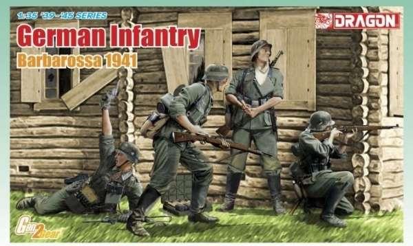 Dragon 6580 German Infantry - Barbarossa 1941