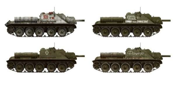 MiniArt 35181 SU-122 Soviet self-propelled gun