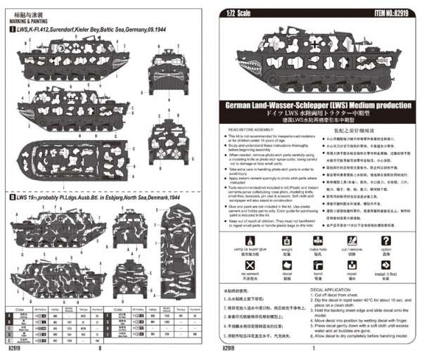 Instrukcja modelu Hobby Boss 82919