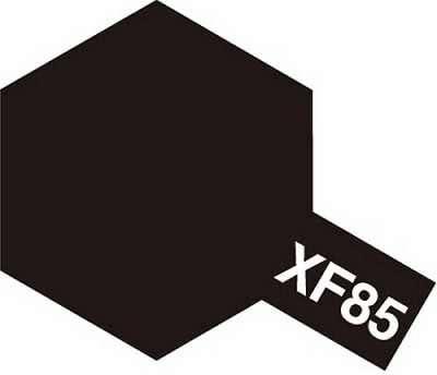 XF-85 Rubber Black emalia 10ml Tamiya 80385