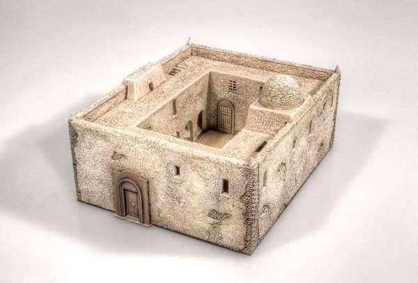 Afrykański dom, plastikowy model do sklejania Italeri 6139 w skali 1:72-image_Italeri_6139_1