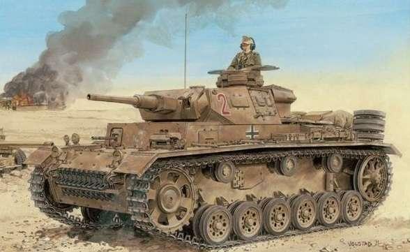 Niemiecki czołg lekki Pz.Kpfw.III wersja H późna produkcja, plastikowy model do sklejania Dragon 6642 w skali 1:35