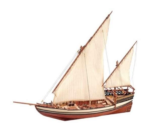 model_drewniany_do_sklejania_artesania_22165_statek_arabski_sultan_sklep_modelarski_modeledo_image_1