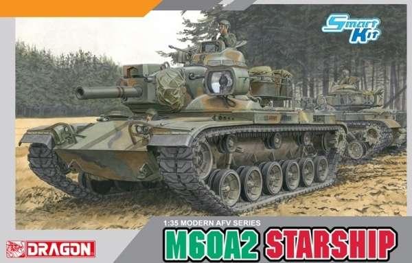 Amerykański podstawowy czołg M60A2 Starship, plastikowy model do sklejania Dragon 3562 w skali 1:35-image_Dragon_3562_1