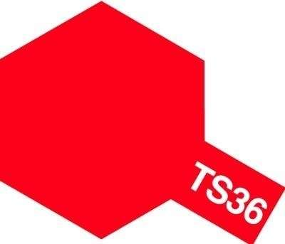 TS-36 Fluorescent Red spray 100ml Tamiya 85036