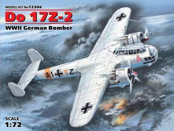 German bomber Dornier Do 17Z-2 ICM 72304