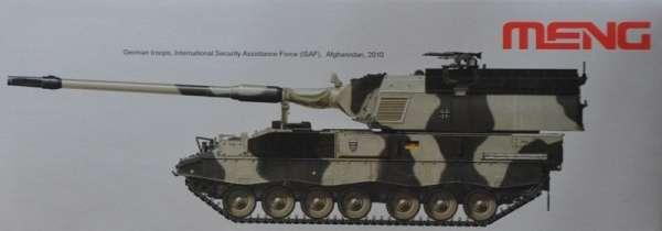 Samobieżna haubicoarmata Panzerhaubitze 2000 Meng TS-019