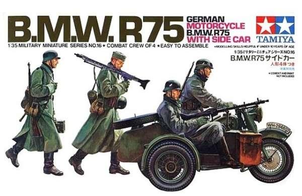 Obrazek motoru BMW R75 - model Tamiya 35016