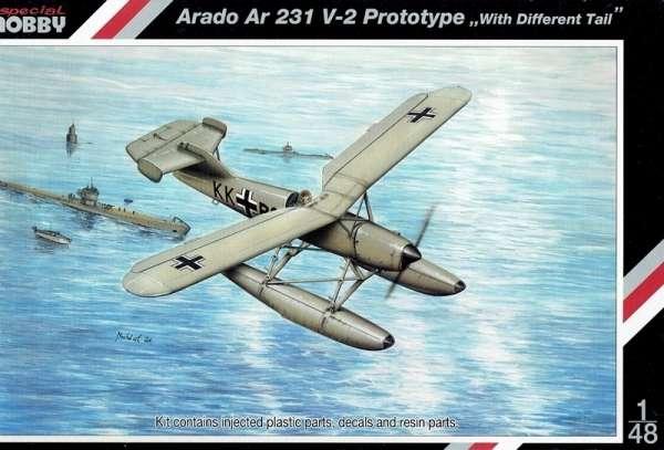 Model wodnosamolotu Arado Ar 231 V-2