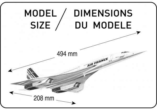 Heller 80445 Concorde