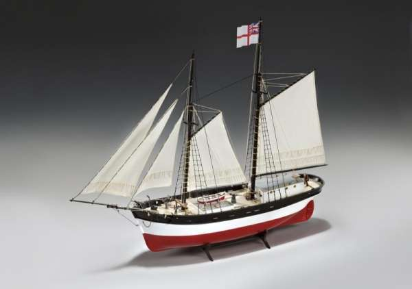 model_drewniany_do_sklejania_amati_1450_hunter_q_ship_hobby_shop_modeledo_image_1