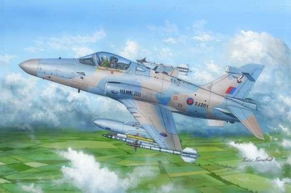 Wielozadaniowy lekki samolot myśliwski Hawk Mk. 200/208/209, plastikowy model do sklejania Hobby Boss 81737 w skali 1:48