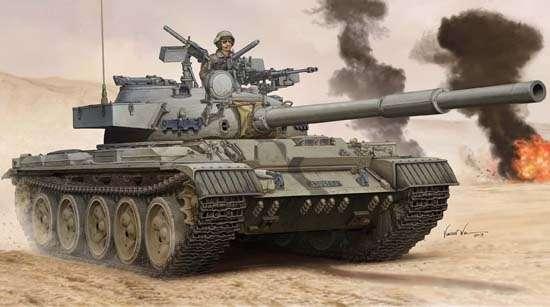 Czołg Tiran-6 MBT , plastikowy model do sklejania Trumpeter 05576 w skali 1:35
