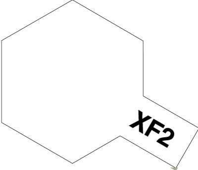 XF-2 Flat White 23ml Tamiya 81302 - acrylic paint
