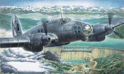 Średni bombowiec Heinkel He 111B Pedro - Roden 005