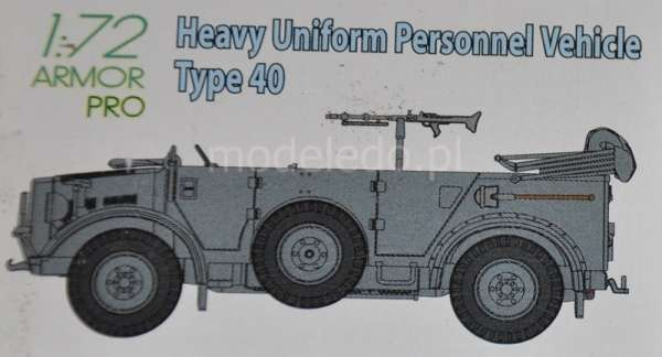 Dragon 7378 Heavy Uniform Personnel Vehicle Type 40