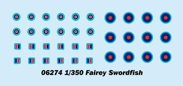 Trumpeter 06274 w skali 1:350 - modele Fairey Swordfish do sklejania - image c