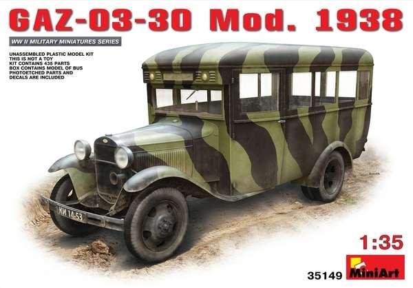 Model GAZ-03-30 Mod.1938 skala 1:35 MiniArt 35149