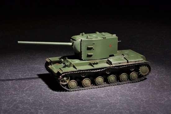 Rosyjski czołg KV-2 , plastikowy model do sklejania Trumpeter 07162 w skali 1:72