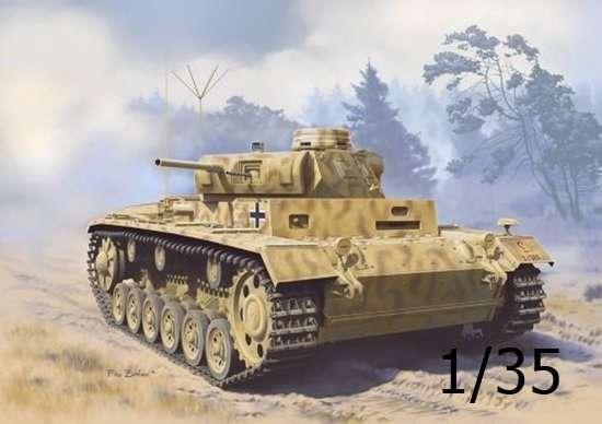 Pojazd obserwacyjny artylerii Panzerbeobachtungswagen III Ausf.F (Sd.Kfz.143), plastikowy model do sklejania Dragon 6792 w skali 1/35.