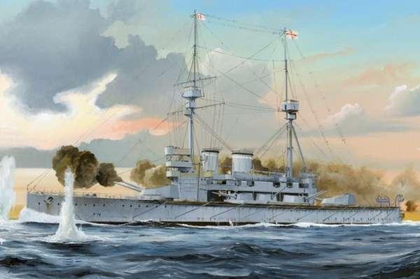 Pancernik HMS Lord Nelson , plastikowy model do sklejania Hobby Boss 86508 w skali 1:350