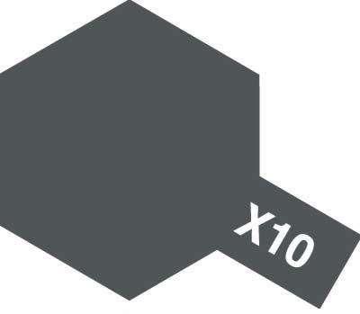X-10 Gun Metal emalia 10ml Tamiya 80010