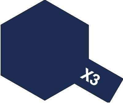 X-3 Royal Blue 23ml Tamiya 81003