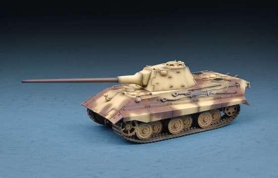 Niemiecki czołg E-50 Standardpanzer, plastikowy model do sklejania Trumpeter 07123 w skali 1:72