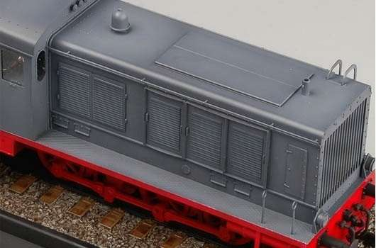 Trumpeter 00216 w skali 1:35 - model German WR 360 C12 Locomotive do sklejania - image c