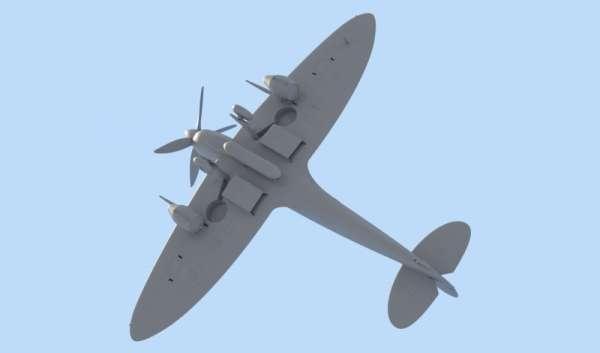 ICM 48060 w skali 1:48 - model Spitfire Mk.IXC Beer Delivery do sklejania - image d