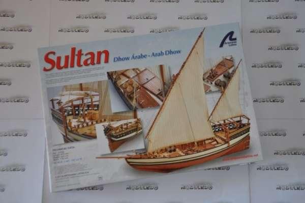 model_drewniany_do_sklejania_artesania_22165_statek_arabski_sultan_sklep_modelarski_modeledo_image_6