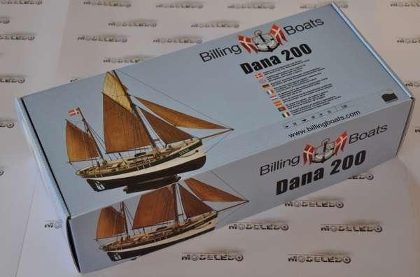 Billing_Boats_Dana drewniany model okrętu do sklejania - image_1