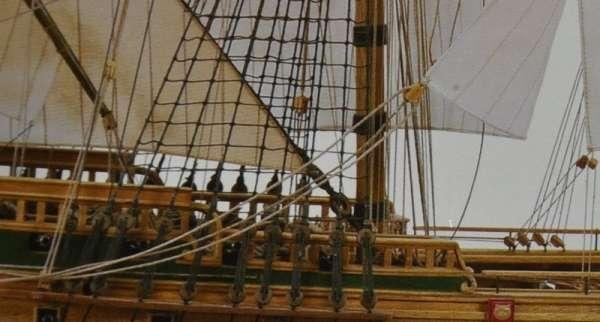 Drewniany model okrętu Norske Love Billing Boats BB437 - image_2_bb437