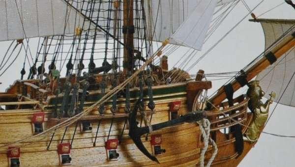 Drewniany model okrętu Norske Love Billing Boats BB437 - image_4_bb437